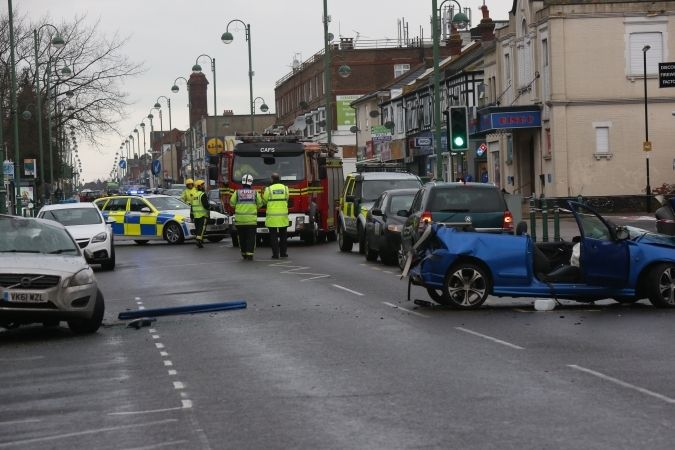 Police Close Road In Southampton Following An Incident