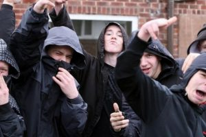 police crack down on out of control chavs in havant