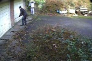 police hunt chilworth burglar after failed garage break