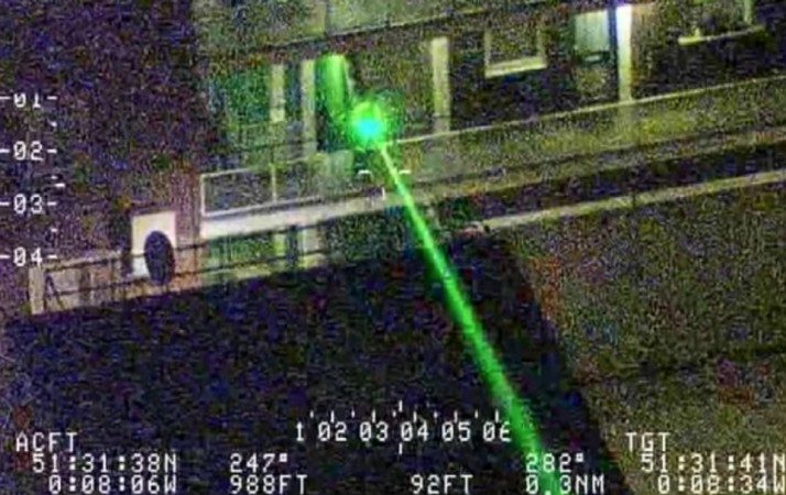 Police Hunt Laser Pen Yobs Who Have Targeted Southampton Airport Planes