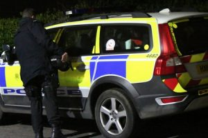 armed police deployed to property in ventnor