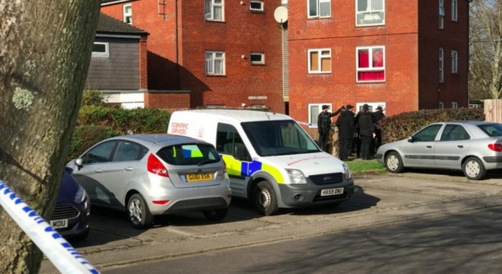 exclusive police recover vehicle riddled with bullets holes after waterlooville shooting