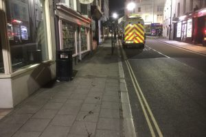 man rushed to hospital in ryde after serious leg injury