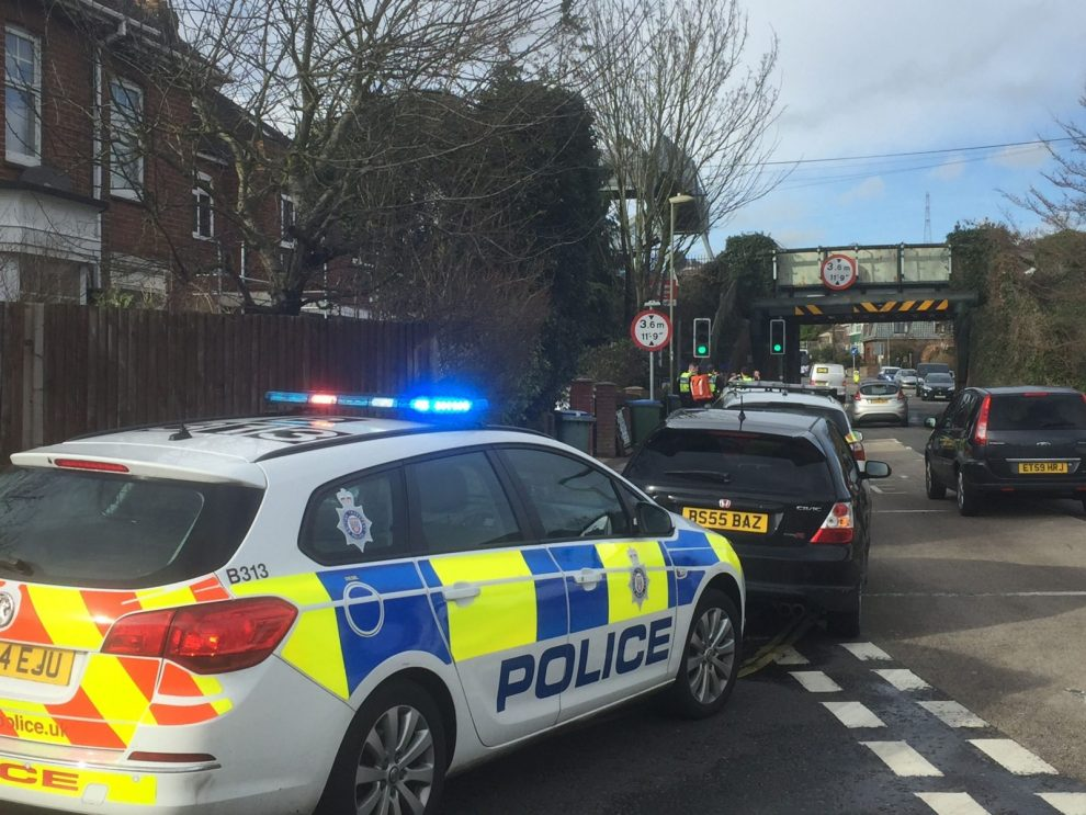 person hit by a train in porchester