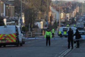 police close road after stabbing in headington man nicked for attempted murder