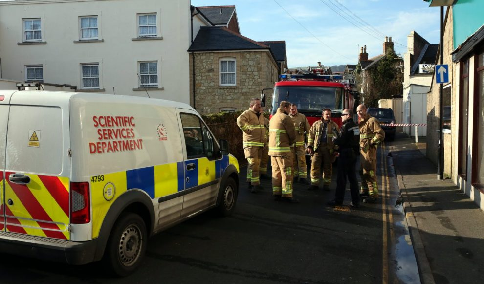 seven rescued after arson attack in shanklin block of flats