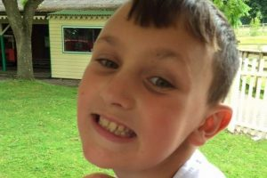 tributes left for popular ten year old school boy killed in tragic topshop incident