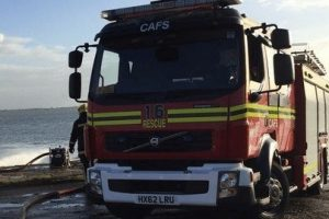 fire crews called to fire at havant rugby club