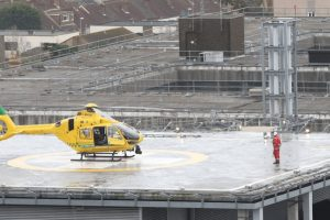 lifesaving mission for air ambulance