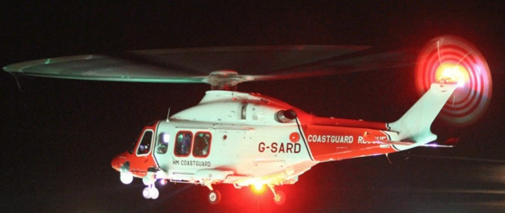 major search off hayling island for vulnerable missing person