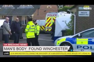man arrested for murder of winchester man carl scott