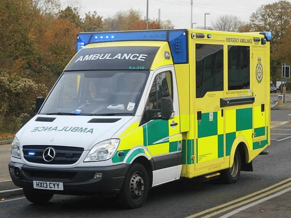 man charged after moving emergency ambulance in newbury