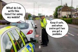 police week long crackdown on drivers using mobile phones