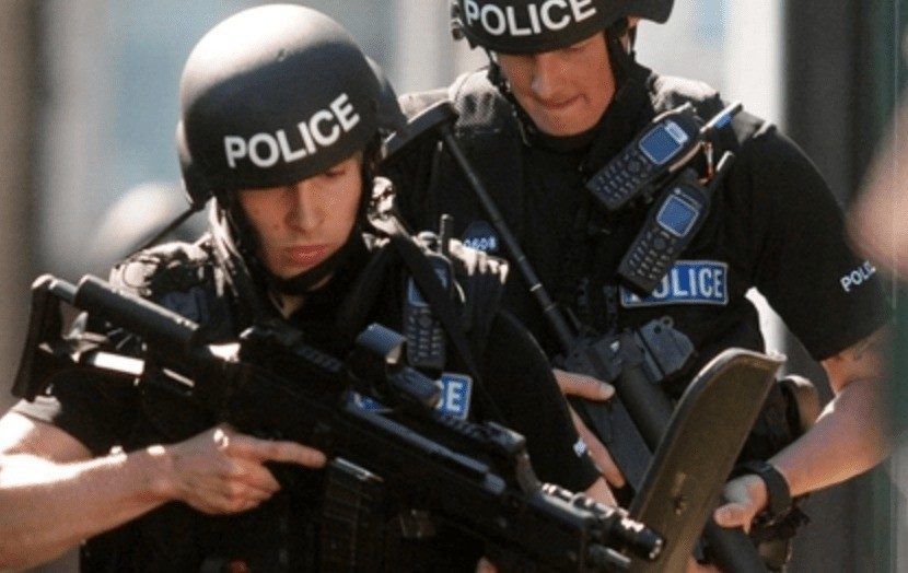 terror raid carried out in brighton