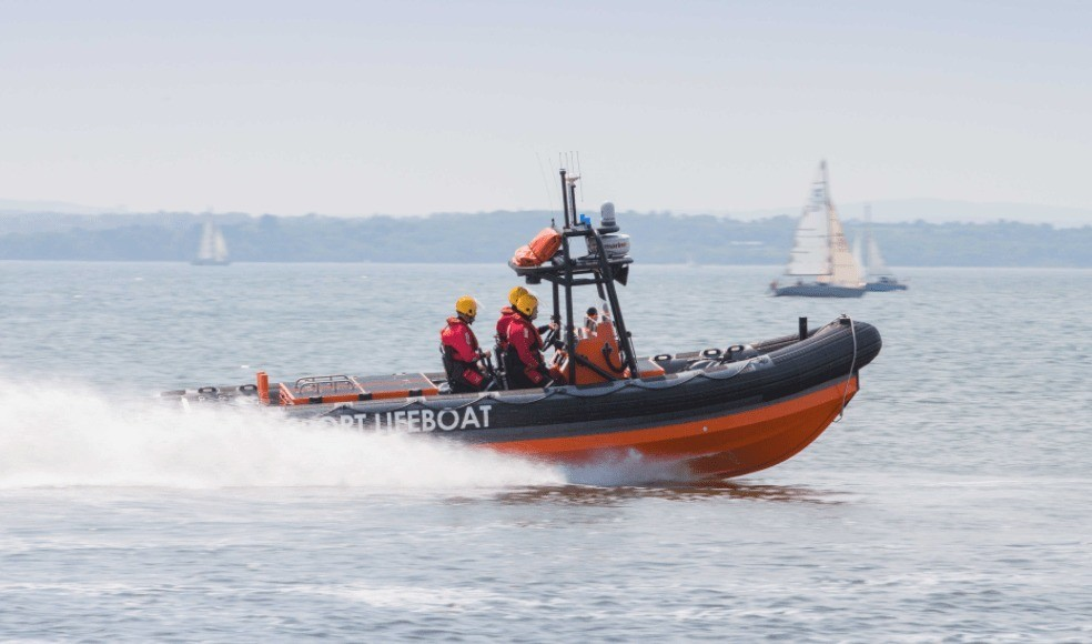 Two Gosport Lifeboats Launched To Vessel Ran Aground In Portsmouth Harbour