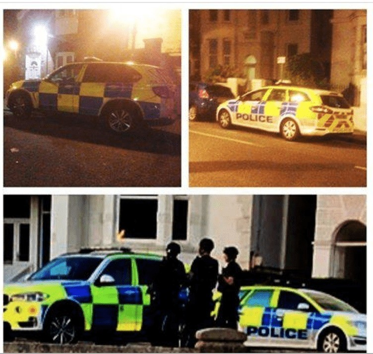 armed cops swoop on southsea pub and recover a firearm