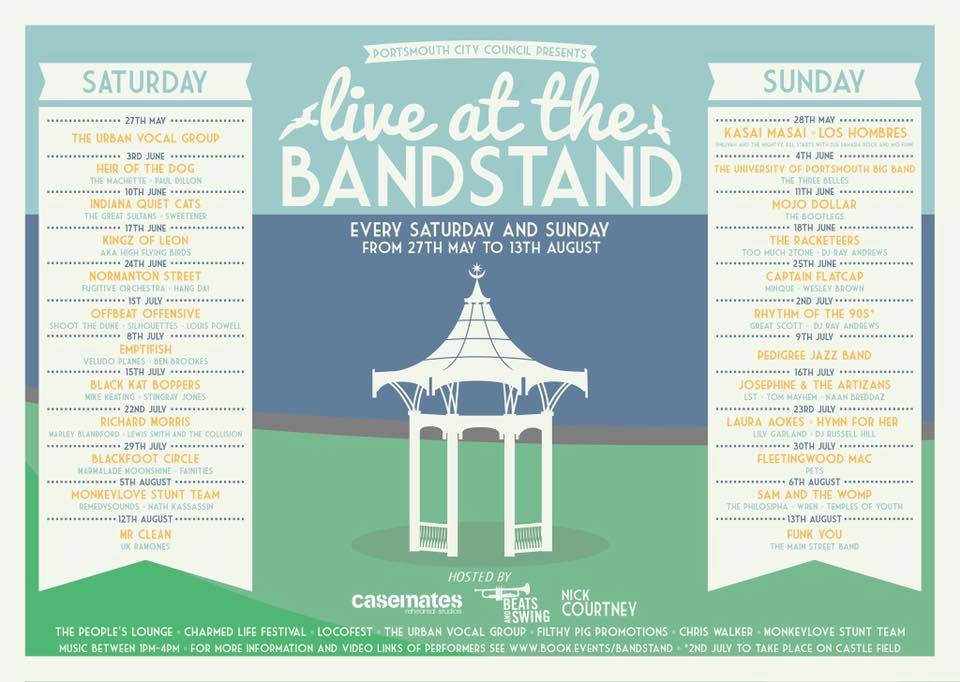 exclusive live at the bandstand dates revealed