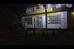 fire at reading tool shop was false alarm