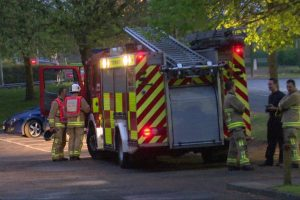 fire crews called to chemical fire in reading