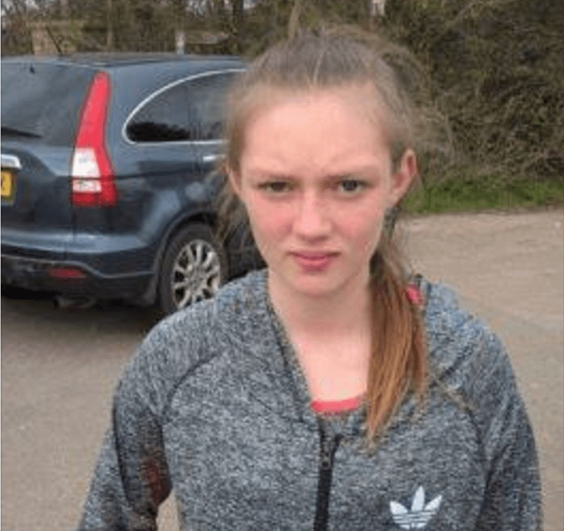 have you seen totton girl jade healy