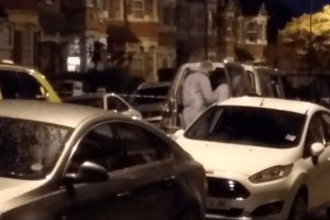 woman shot after anti terror raid in north london