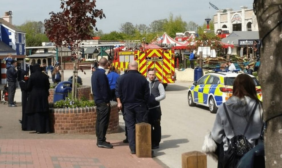 11 year girl airlifted to hospital after falling from ride at drayton manor