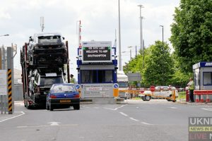 breaking eastern docks southampton closed following an incident