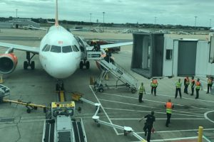 breaking easyjet plane at gatwick airport has been evacuated after suspicious white powder