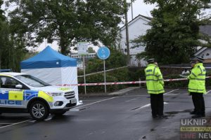 breaking police cordon off asda totton car park after man is found dead