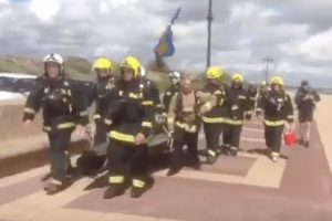 legend hampshire firefighters take the cockleshell challenge