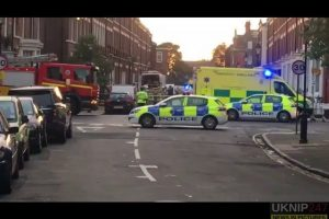 man arrested after three found dead in liverpool flat