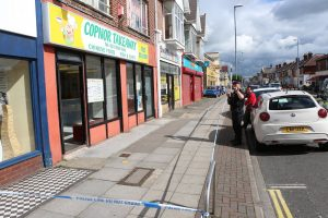 police close footpath following serious incident