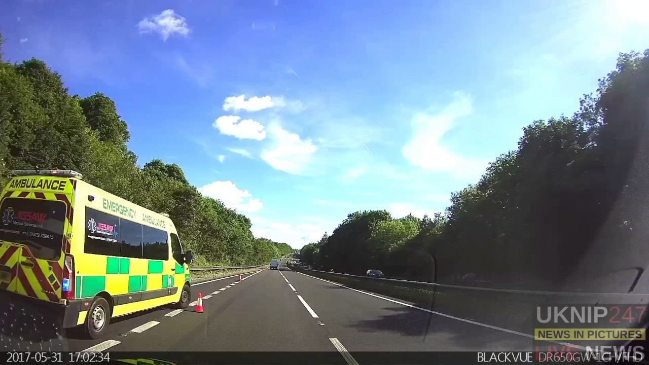 Police Close Part Of A303  Following Two Vehicle Collision