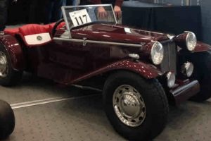 rare burlington dart mini car stolen from holmbury st mary