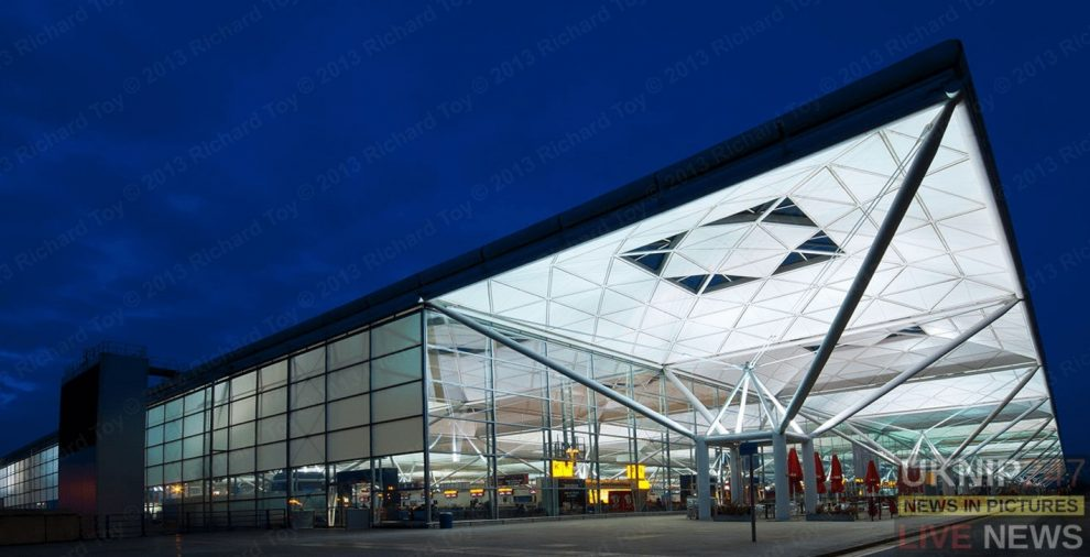 terror arrest at stansted airport