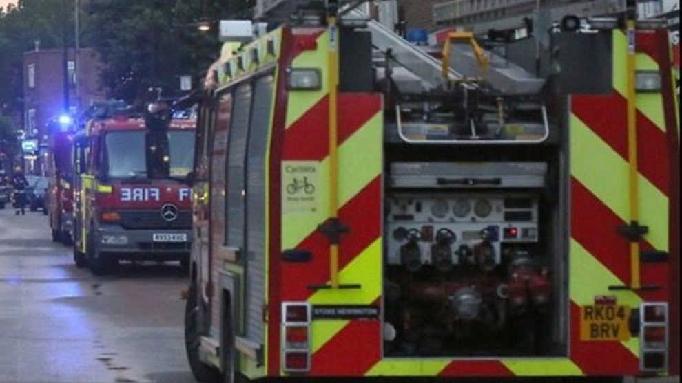 500 tonnes of rubbish well alight at recycling centre