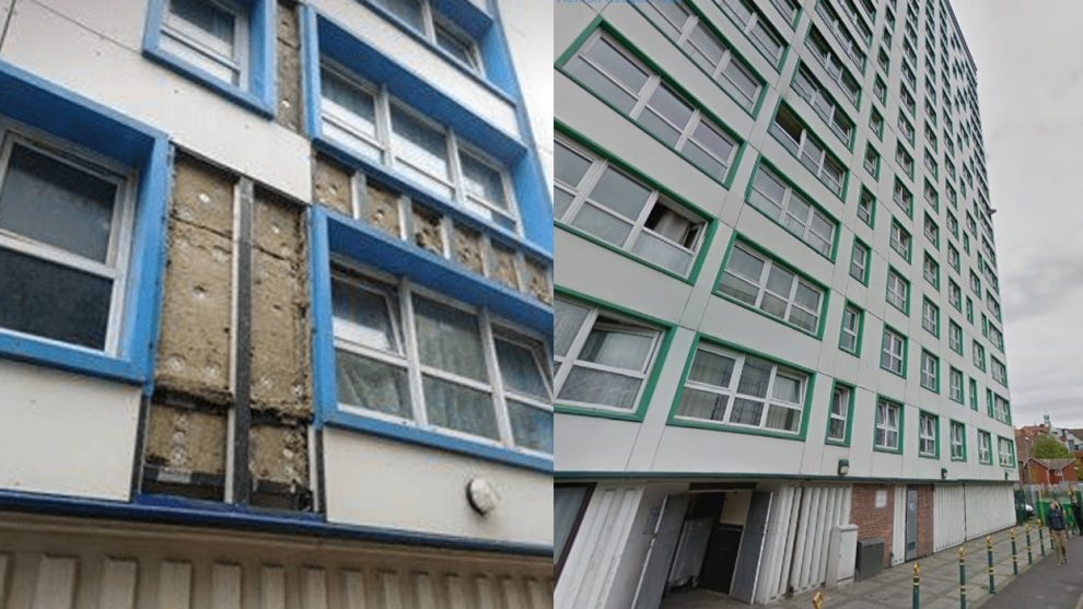 is portsmouth council blowing hot air over fire risk cladding