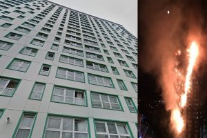 two towers in portsmouth found to have same clad as grenfell