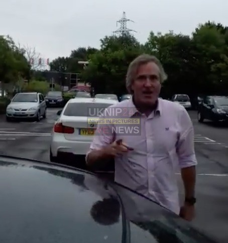bbc director involved in road incident on the m27 motorway in southampton