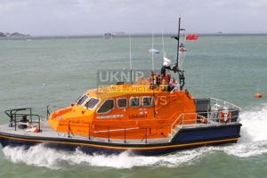 bembridge lifeboat launched after party cut off by the tide