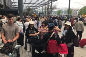 breaking terminal three at heathrow airport has been evacuated following a fire alarm