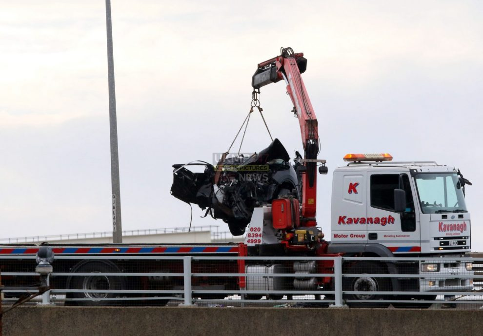 breaking two arrested follow a2 dover lorry horror crash at dover port