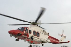 costguard rescue helicopter called to isle of wight