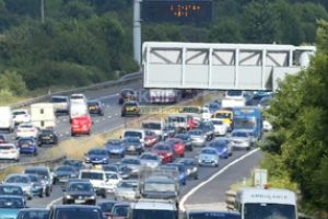 delays on m27 motorway following earlier collision