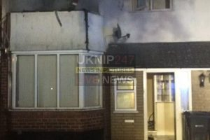 four rescued from severe house fire in west midlands