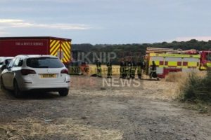 light aircraft crashes near marlborough