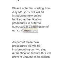 new hsbc phishing scam email in circulation