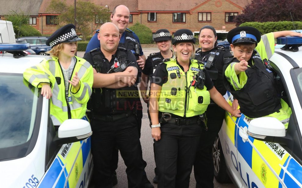 police have a whip round for birthday boy ben from portsmouth