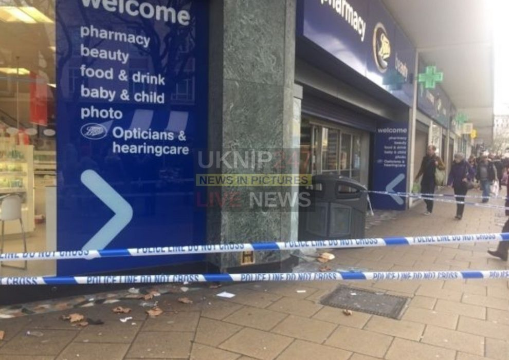 police investigate breaking at boots in portsmouth