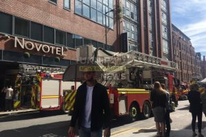 small fire breaks out at the novotel in liverpool